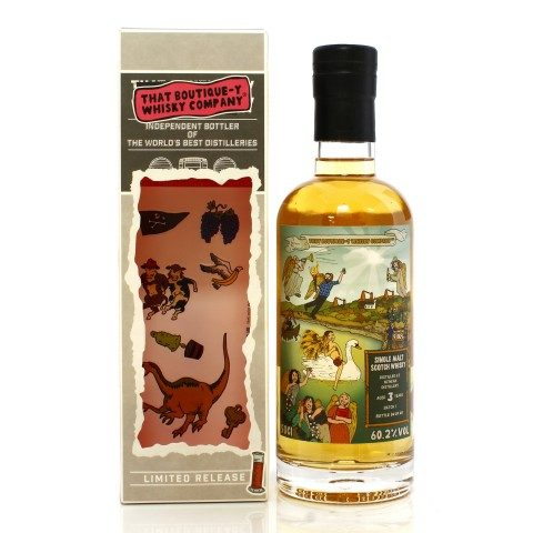 Nc'nean 3 Year Old That Boutique-y Whisky Co. Batch #1