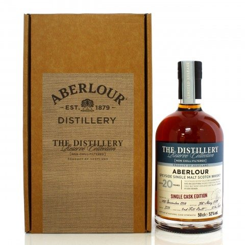 Aberlour 1998 20 Year Old Single Cask #7336 Distillery Reserve Collection