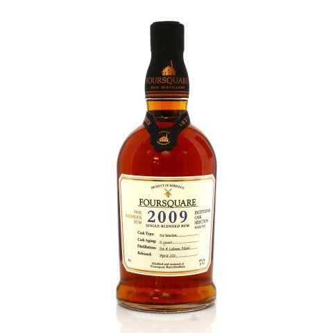 Foursquare 2009 12 Year Old Exceptional Cask Selection