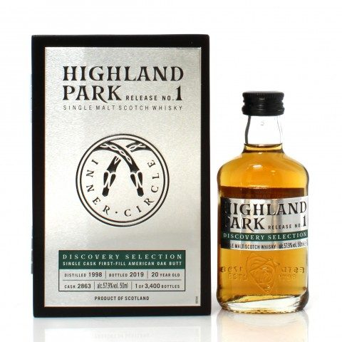 Highland Park 1998 20 Year Old Single Cask #2863 Discovery Selection 1st Release