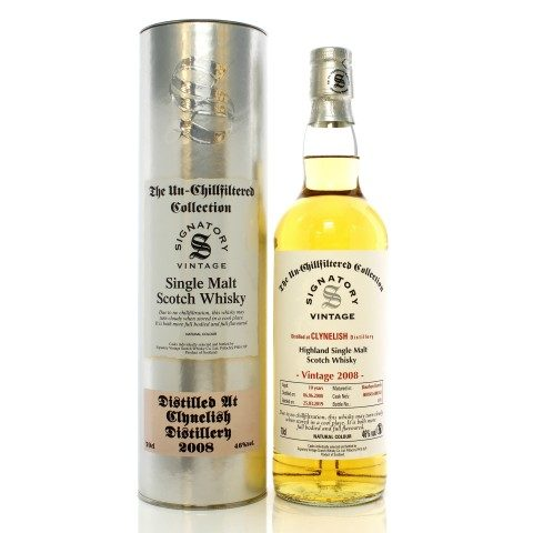 Clynelish 2008 10 Year Old Signatory Un-Chillfiltered Collection