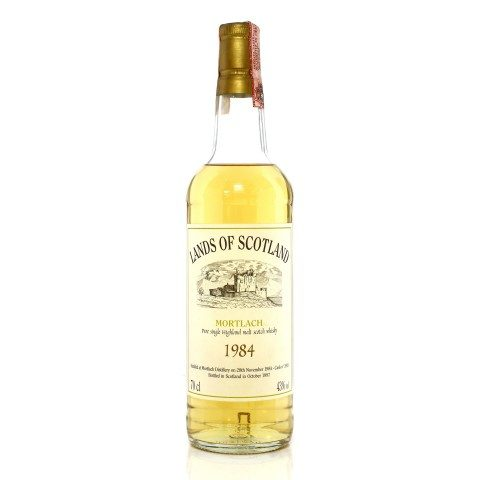 Mortlach 1984 12 Year Old Single Cask #3911 Lands of Scotland
