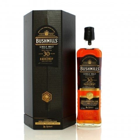 Bushmills 1990 30 Year Old The Causeway Collection