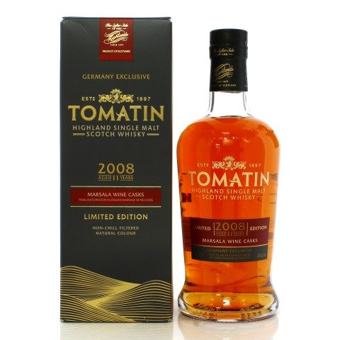 Tomatin 2008 11 Year Old - Germany
