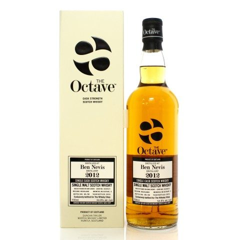 Ben Nevis 2012 8 Year Old Single Cask #3630523 Duncan Taylor The Octave - TWS