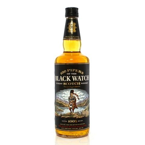 100 Pipers of the Black Watch