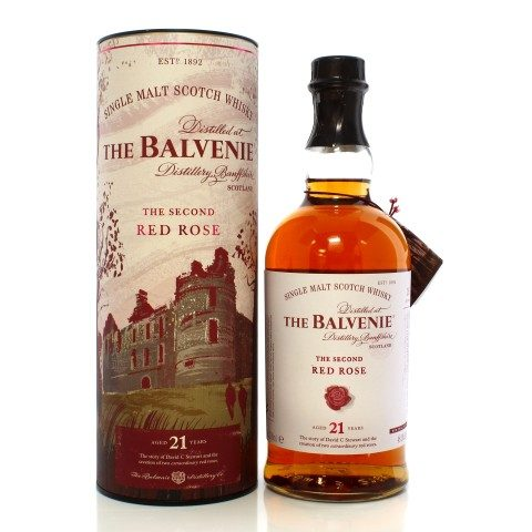 Balvenie 21 Year Old Stories Series The Second Red Rose