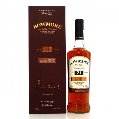 Bowmore 21 Year Old Chateau Lagrange French Oak Barriques
