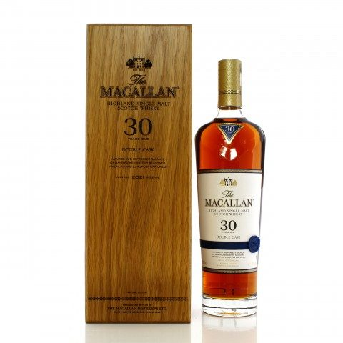 Macallan 30 Year Old Double Cask 2021 Release