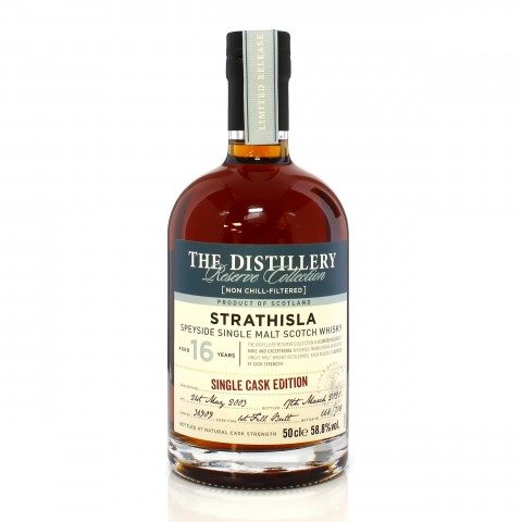 Strathisla 2003 16 Year Old Single Cask #36909 Distillery Reserve Collection