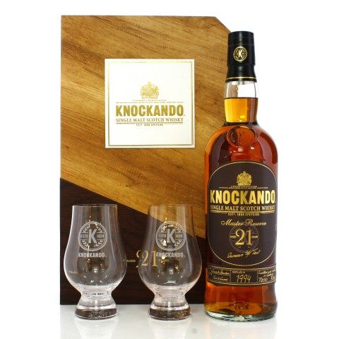 Knockando 1994 21 Year Old Master Reserve Gift Pack
