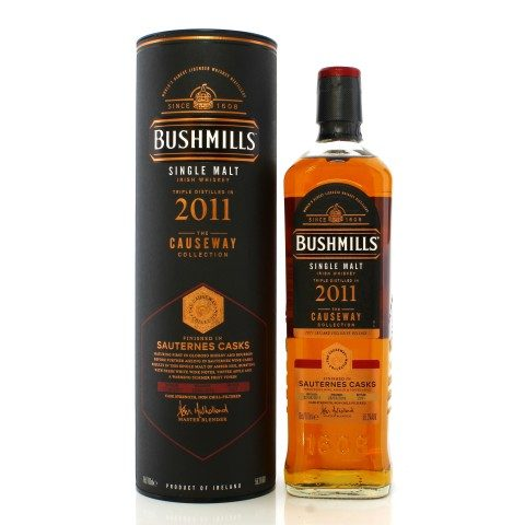 Bushmills 2011 The Causeway Collection - Ireland Exclusive