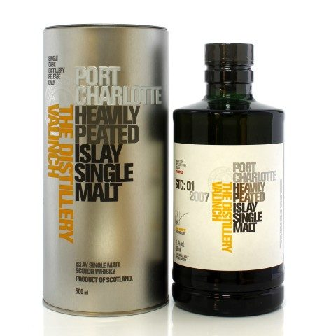 Port Charlotte 2007 12 Year Old Single Cask #2190 Valinch STC:01