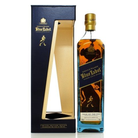 Johnnie Walker Blue Label Year of the Pig 2019
