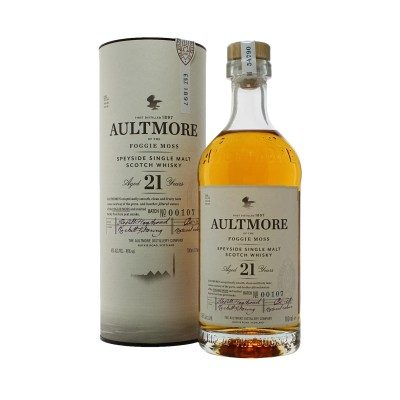 Aultmore 21 Year Old with box