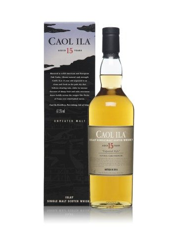 Caol Ila 15ans 'Unpeated'  2018 Special Release