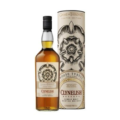 Clynelish Reserve - Game of Thrones House Tyrell with box