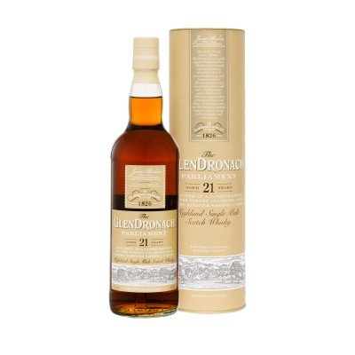 GlenDronach Parliament 21 Year Old with box