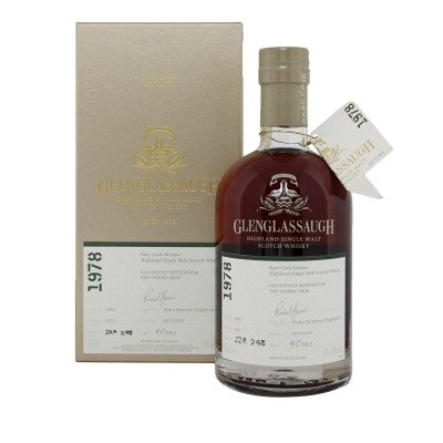 Glenglassaugh 1978 40 Year Old #3060 with box