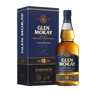 Glen Moray 18 Year Old with box
