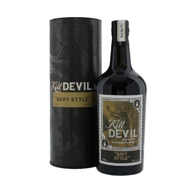 Kill Devil Navy Style Rum with box