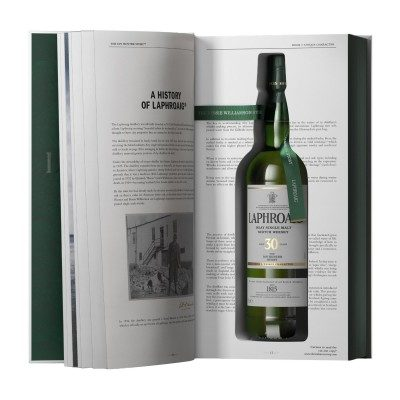 Laphroaig 30 Year Old The Ian Hunter Story Book One in case