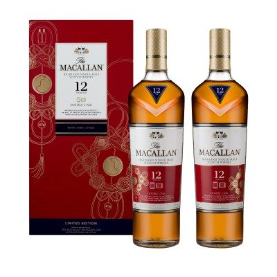 Macallan 12 Year Old Double Cask Chinese New Year Twin Pack