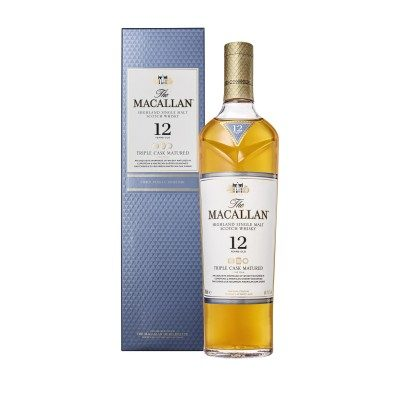 Macallan 12 Year Old Triple Cask with box