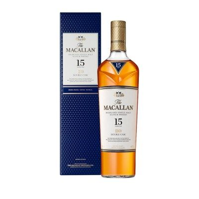 Macallan 15 Year Old Double Cask with box