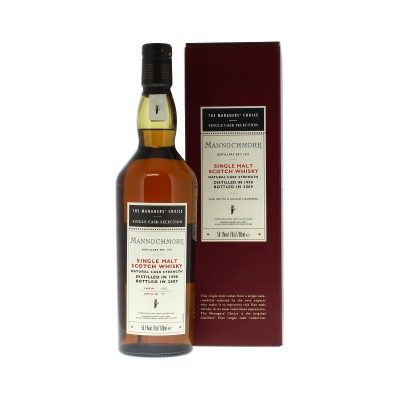Mannochmore 1998 Managers' Choice with box