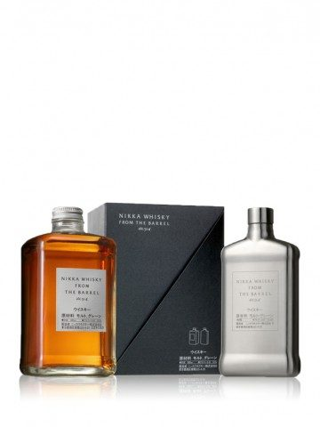 Nikka From The Barrel Hip Flask Pack