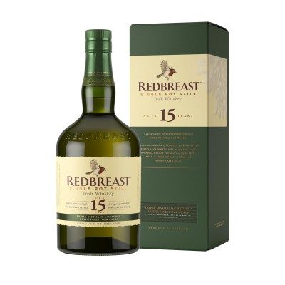 Redbreast 15 Year Old with box