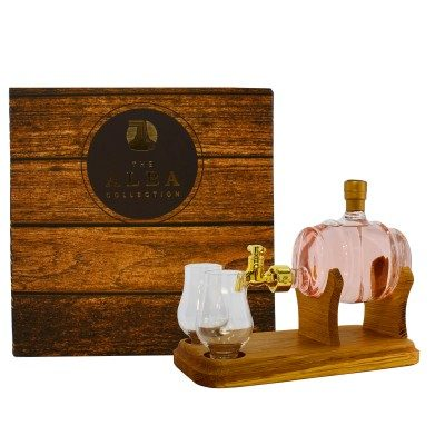 Barrel Gin Decanter with 2 Glasses