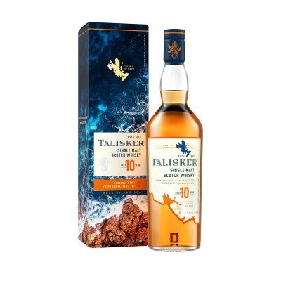 Talisker 10 Year Old with box