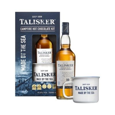 Talisker 10 Year Old 20cl Hot Chocolate Gift Set