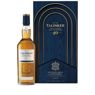 Talisker 40 Year Old with case