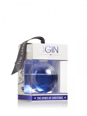 The Lakes Gin Bauble 20cl in box