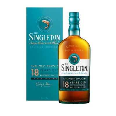 Singleton of Dufftown 18 Year Old with box
