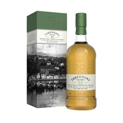 Tobermory 12 Year Old with box