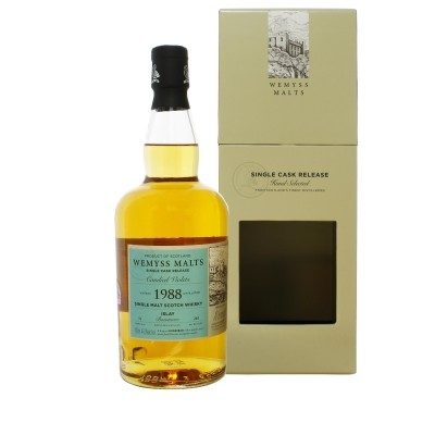 Wemyss Malts Bowmore 1988 31 Year Old Candied Violets