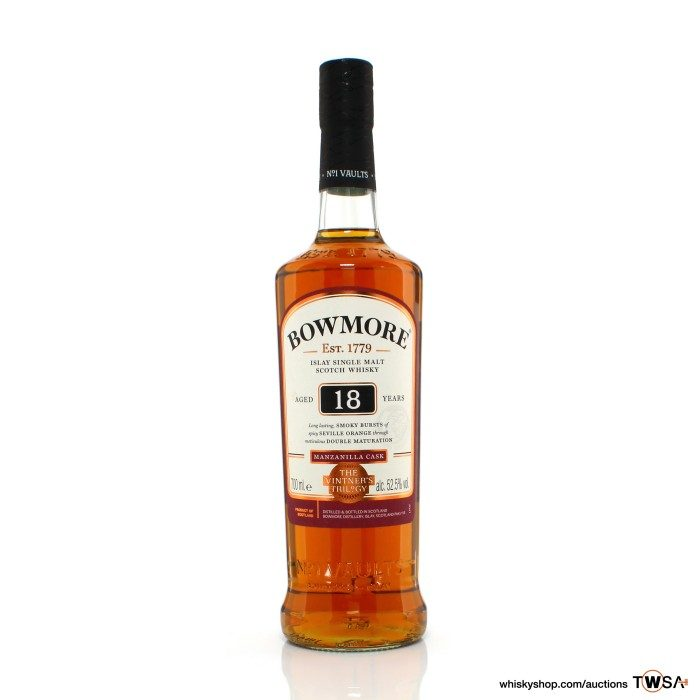 Bowmore 18 Year Old The Vinter's Trilogy