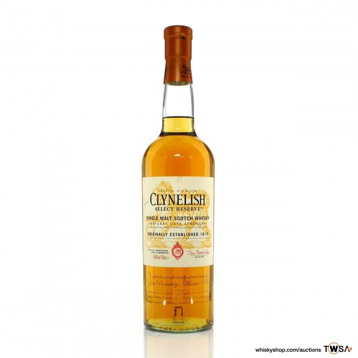 Clynelish Select Reserve Natural Cask Strength 2014 Release
