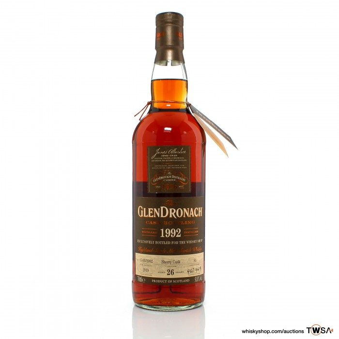 GlenDronach 1992 26 Year Old Single Cask #81 - The Whisky Shop