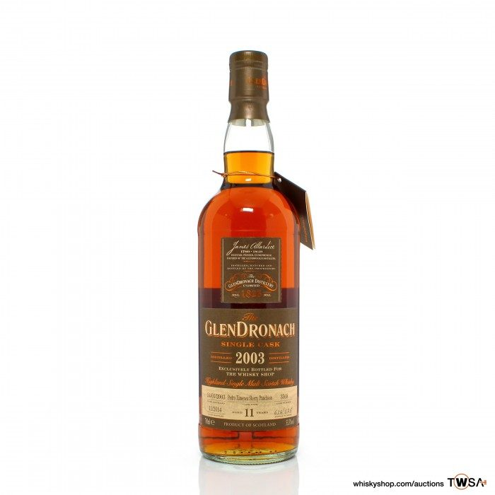 GlenDronach 2003 11 Year Old Single Cask #3568 - The Whisky Shop