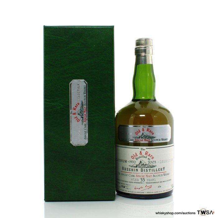 Brechin 1970 33 Year Old Douglas Laing Old & Rare Platinum Selection