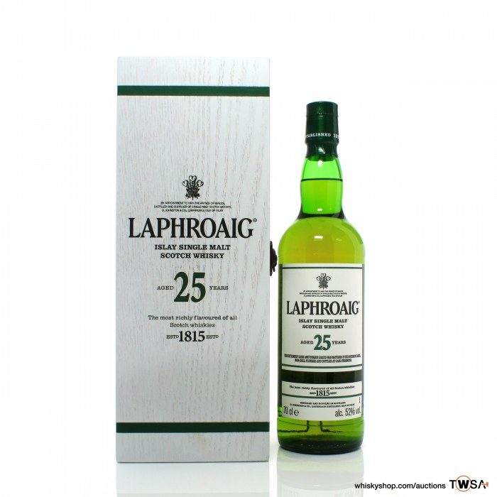 Laphroaig 25 Year Old Cask Strength 2018 Release