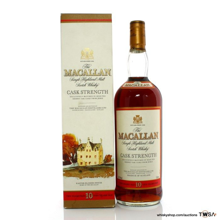 Macallan 10 Year Old Cask Strength Early 2000s