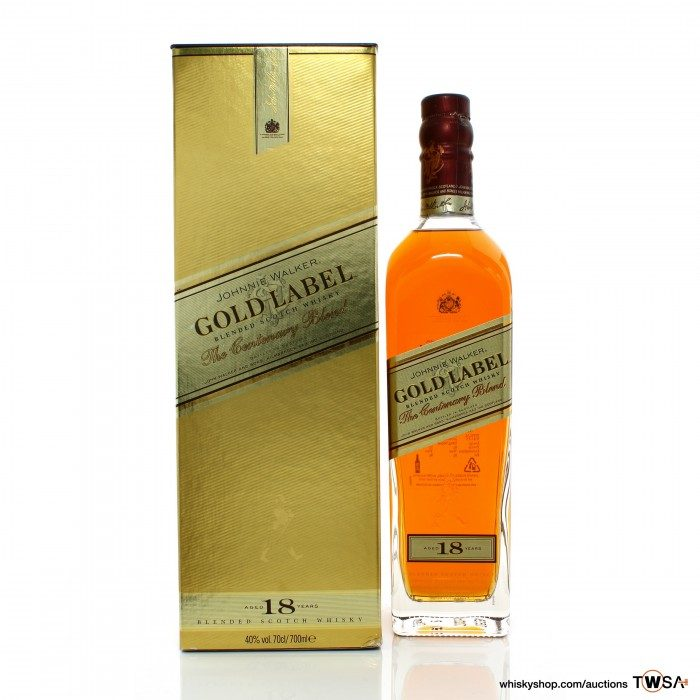 Johnnie Walker 18 Year Old Gold Label The Centenary Blend