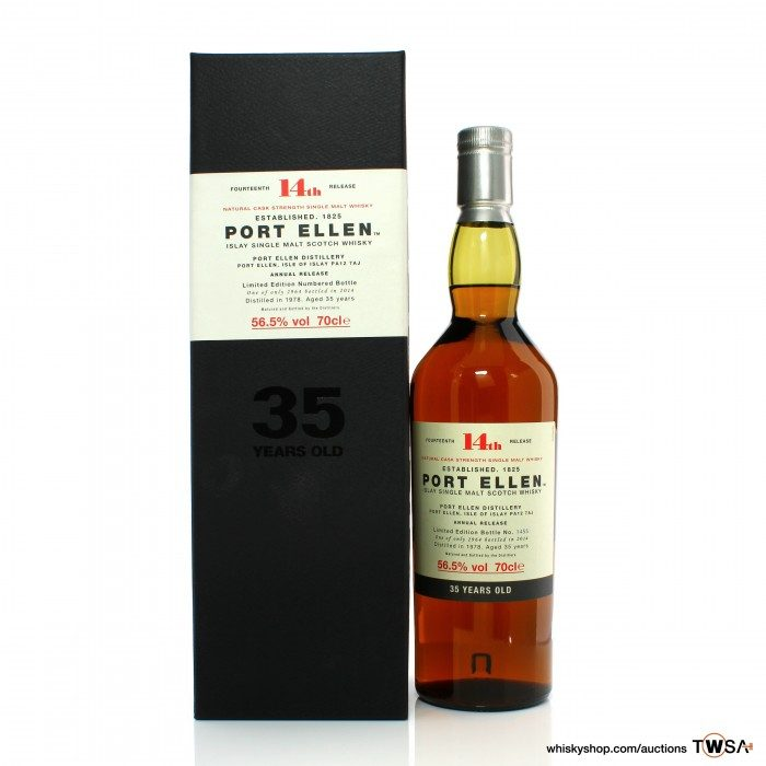 Port Ellen 1978 35 Year Old 14th Annual Release