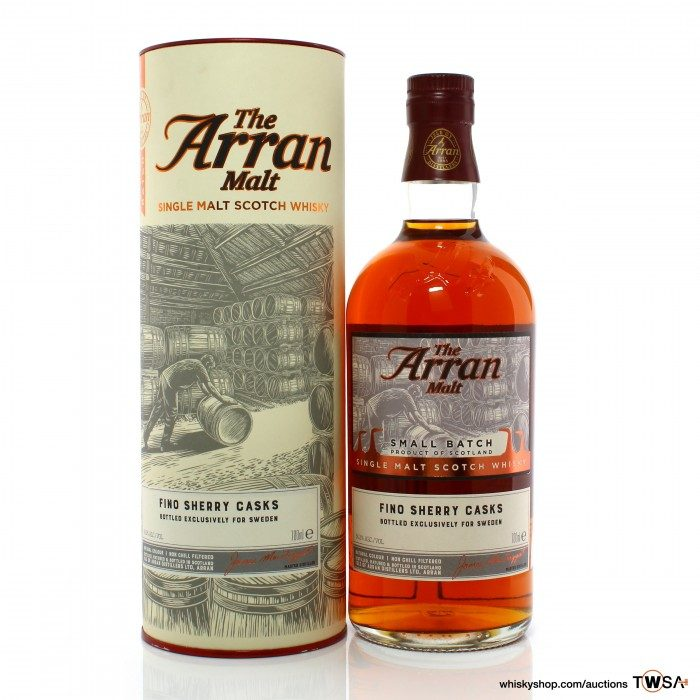 Arran 2008 9 Year Old Small Batch - Sweden Exclusive